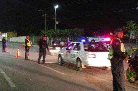 18 conductores arrestados en Operativo Alcoholímetro en Oaxaca y Tuxtepec