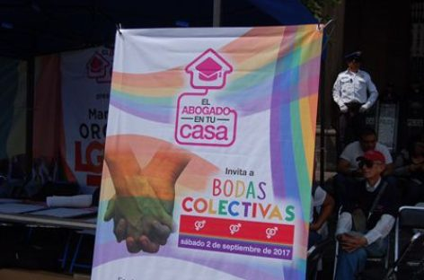 Anuncia Gobierno de la CDMX Boda Colectiva para población LGBTTTI
