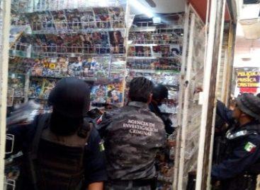 Retiran autoridades federales y estatales del mercado informal 33 mil productos apócrifos