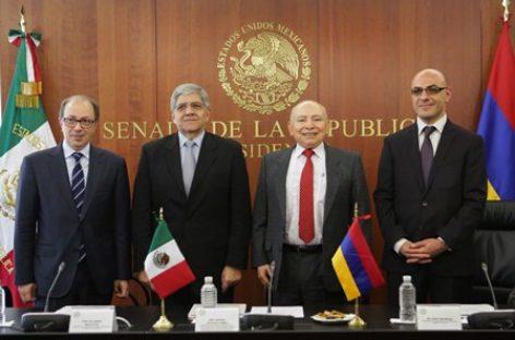 Tienen México y Armenia potencial para generar condiciones de desarrollo, cooperación y entendimiento