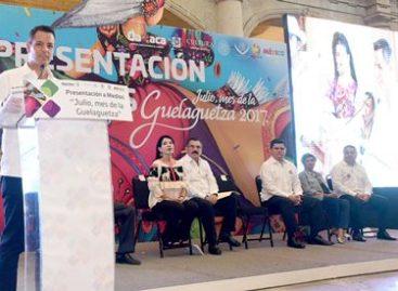"""Anuncia gobernador inicio de las fiestas de """"Julio, Mes de la Guelaguetza 2017"""""""