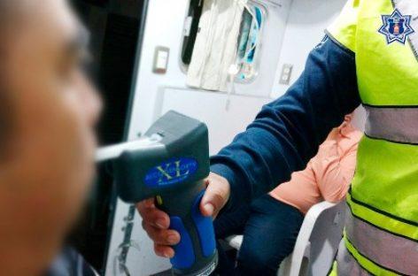 Arrestan a 16 conductores durante Operativo Alcoholímetro en Oaxaca
