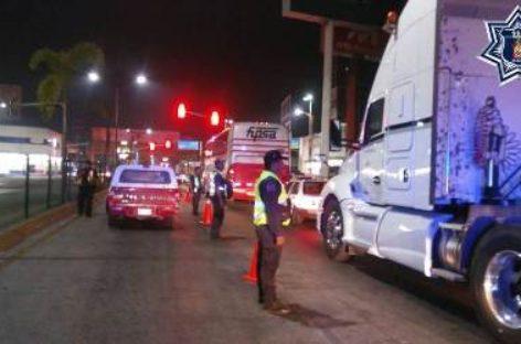 Arrestados 11 conductores en Operativo Alcoholímetro en Oaxaca