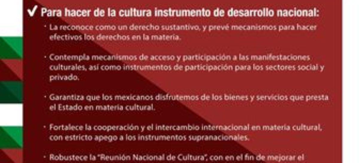 Nueva Ley de Cultura reconoce pluralidad y resguarda patrimonio inmaterial: IBD