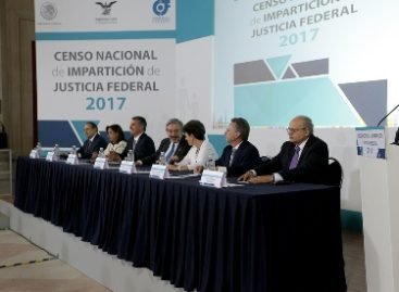 Presenta INEGI resultados del Censo Nacional de Impartición de Justicia Federal