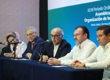 Expresan cancilleres decepción ante interrupción del proceso democrático de Venezuela