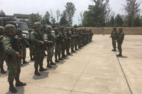 Detienen fuerzas federales a presuntos integrantes de grupo delictivo que opera en Michoacán