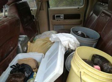 Asegura Ejército Mexicano más de 176 kilogramos de goma de opio en La Yesca, Nayarit