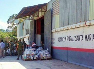Garantiza Diconsa entrega de paquetes alimentarios a poblaciones incomunicadas de Oaxaca