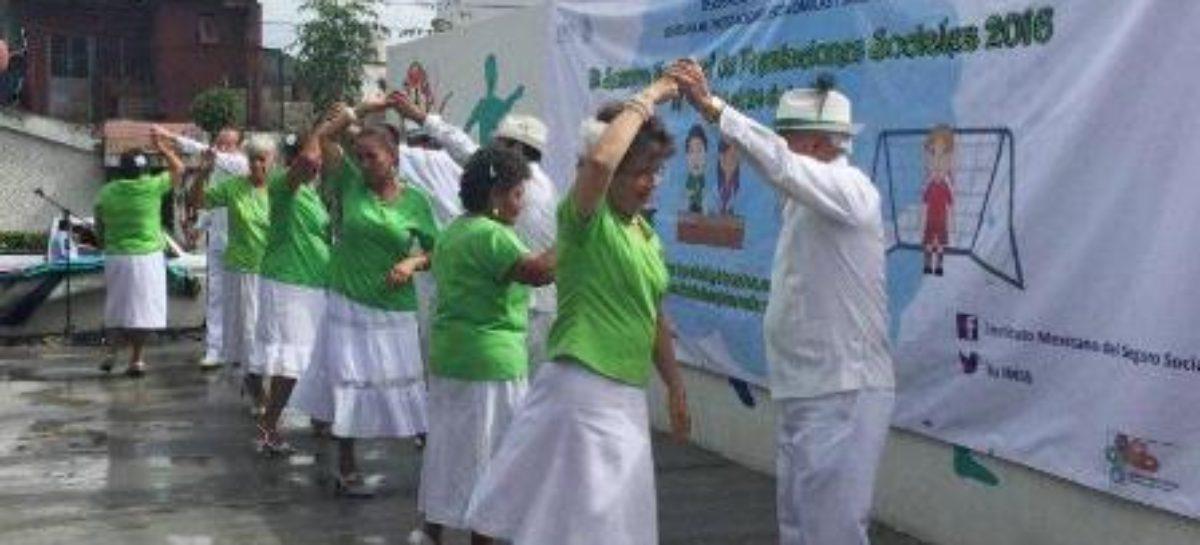 Primera Semana Nacional de Prestaciones Sociales del IMSS-Oaxaca en la Alameda de León
