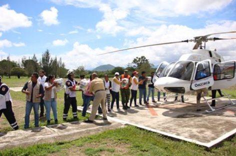 """Fluye entrega de apoyos del FONDEN a municipios afectados por Tormenta Tropical """"Beatriz"""""""