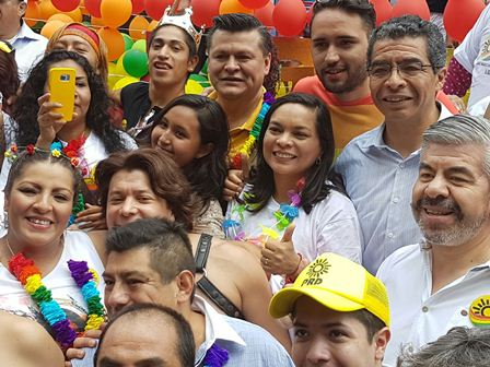 Resultado de imagen para PRD capitalino reitera su lucha a favor de la diversidad sexual