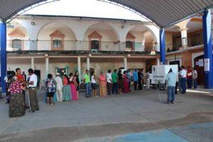 En Xadani se dio una muy alta participación ciudadana del 67.52 por ciento.