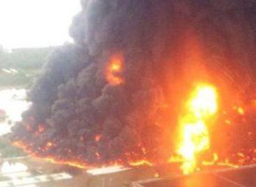 Exige presidenta de MORENA-Oaxaca investigación a fondo sobre el incendio ocurrido en refineria de Salina Cruz, Oaxaca