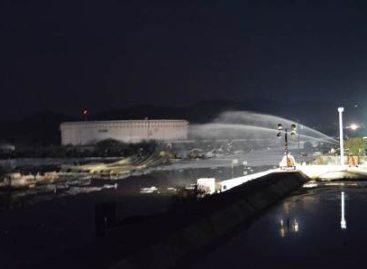 Totalmente sofocado incendio en la refinería de Salina Cruz, Oaxaca