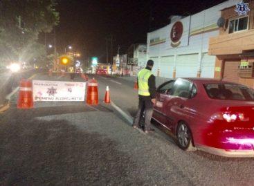 Arrestados 14 conductores durante Operativo Alcoholímetro en Oaxaca