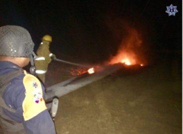 Activan Plan Estatal de Auxilio a la Población en Juchitán por incendio en aerogenerador