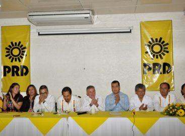 Analizan militantes del PRD en Oaxaca Frente Amplio Democrático