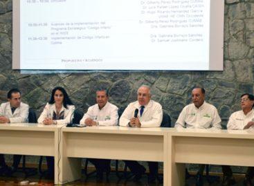 Lanza IMSS Código Infarto en Colima; Suman 25 delegaciones que se unen a esta estrategia