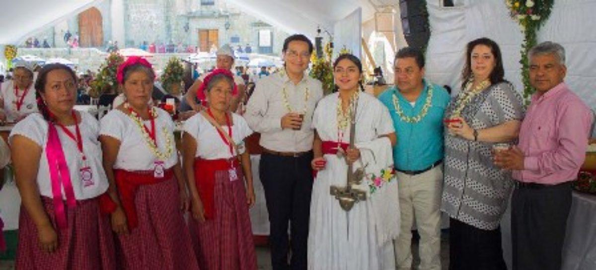 Inauguran XII Feria del Tejate y del Tamal 2017 en Oaxaca