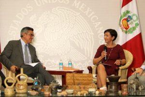 El embajador de Perú en México, Julio Garro Gálvez, agradeció a nombre del Gobierno de su país, el compromiso de México.