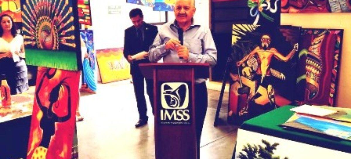 Exponen obra artistas plásticos a beneficio del albergue del Voluntariado del IMSS