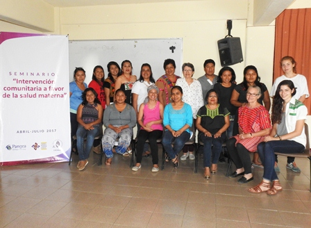 Impulsan salud materna en comunidades