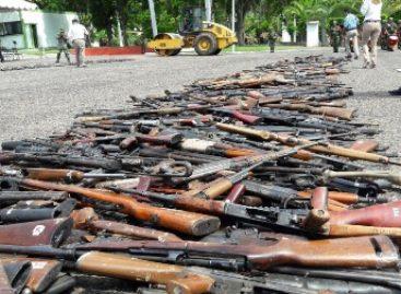 Inutilizan más de cuatro mil 500 armas largas y cortas en Sonora y Sinaloa