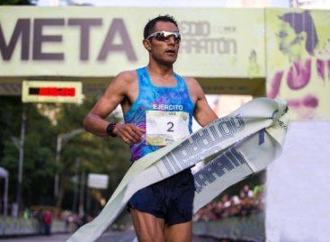 Logran soldados primer y tercer lugar en medio maratón de la Ciudad de México