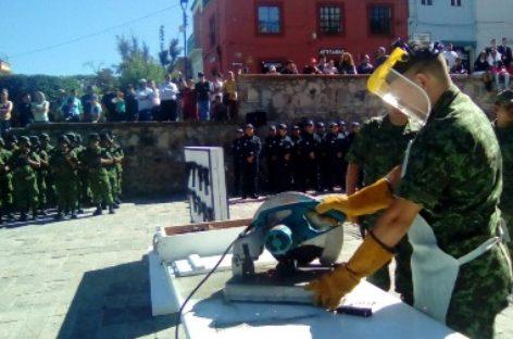 Inutilizan más de dos mil armas de fuego en Guanajuato