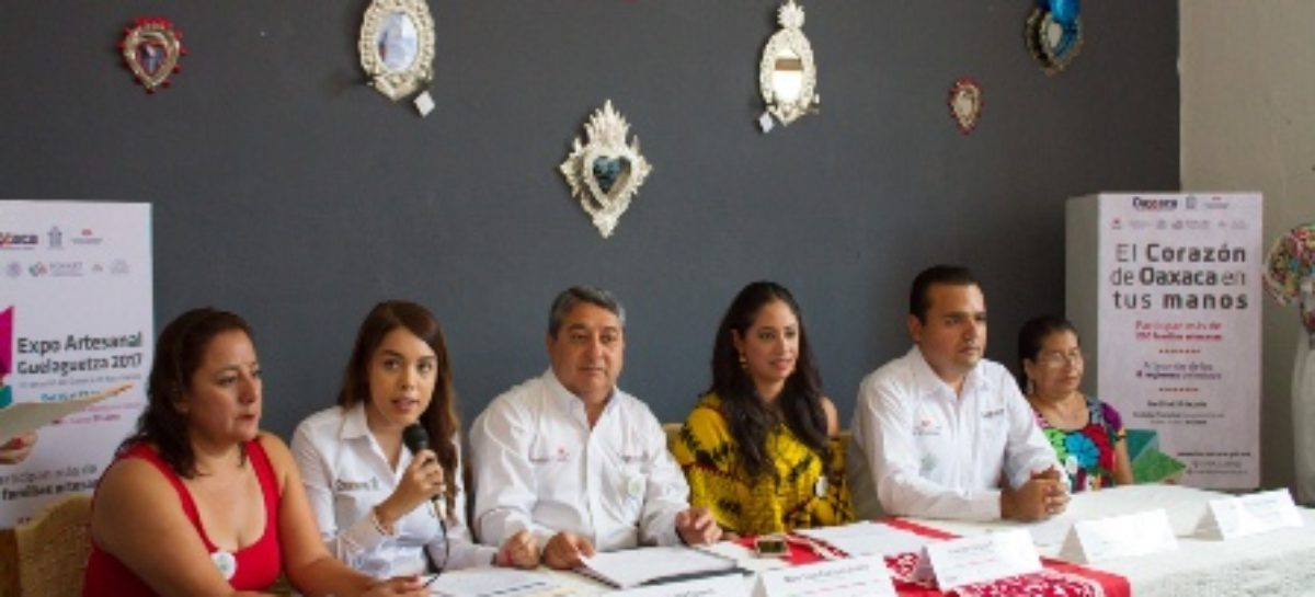 """Expo Artesanal Guelaguetza 2017""; Del 15 al 27 de julio"