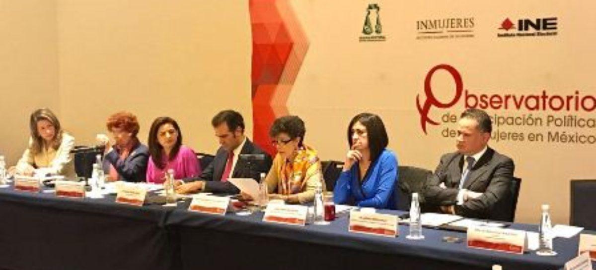 Obligación de partidos políticos e instituciones, impulsar participación de las mujeres