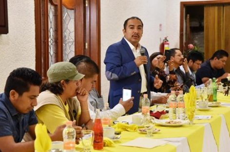 Presenta diputado Horacio Antonio Mendoza Ley de Protección a Periodistas