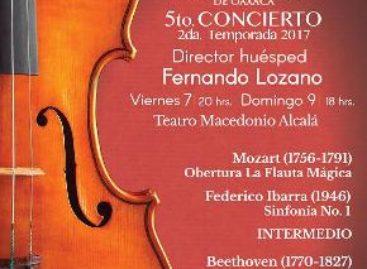 Cierra temporada la Orquesta Sinfónica de Oaxaca