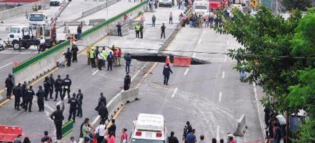 Realiza CNDH 13 acciones de carácter pericial en zona del socavón en Morelos