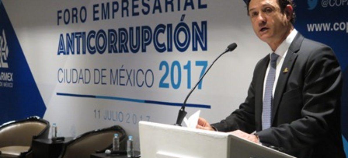 Impide viejo régimen político nacimiento del nuevo sistema anticorrupción: COPARMEX CDMX