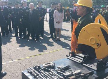 Inhabilitan más de dos mil 600 armas en la Ciudad de México