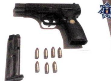Detenido con arma de fuego sin licencia en Putla, Oaxaca