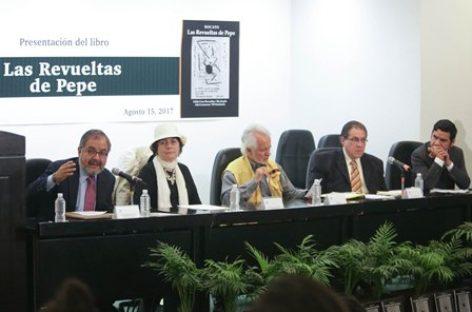 """Presentan en el Senado el libro: """"Las Revueltas de Pepe"""""""
