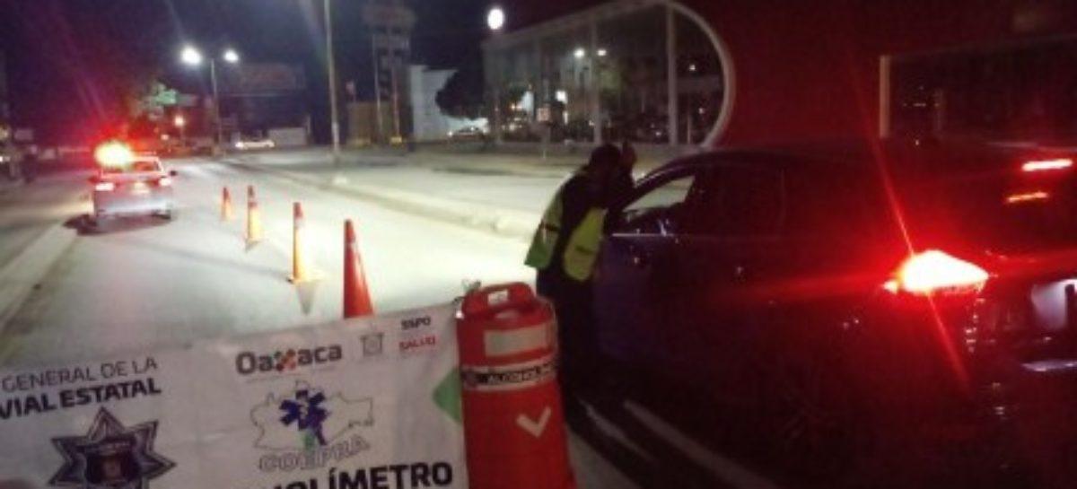 Arrestados nueve conductores durante doble aplicación del Alcoholímetro