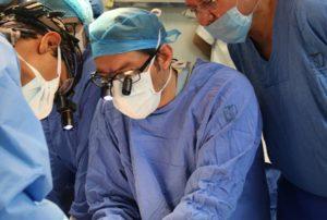 """La intervención quirúrgica de corazón, hígado, riñones y córneas se realizó en el HGR No. 1 """"Vicente Guerrero"""" en Acapulco."""