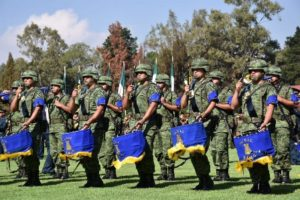 Participaron agrupaciones de las doce regiones militares.