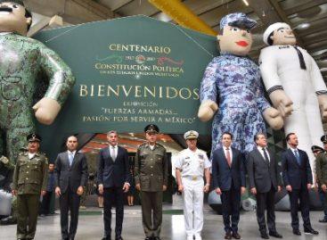 """Inauguran Exposición """"Fuerzas Armadas…Pasión por Servir a México"""" en el Centro Expositor"""