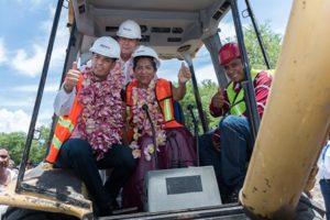 Inicia construcción en Juchitán