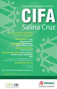 Información al teléfono (971) 7149000 extensión 52364 y 72 51736, o al correo electrónico cifa.salinacruz@pemex.com