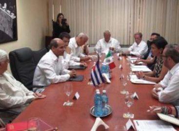 Refrendan México y Cuba compromiso de colaboración bilateral