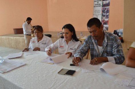 Firma IOAM acuerdos con Villa Sola de Vega para atender necesidades de migrantes