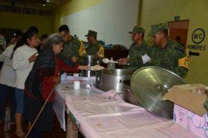 En Puebla se activaron tres refugios temporales.