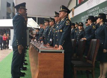 Egresan 47 oficiales de la Escuela Militar de Odontología