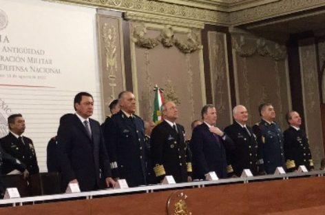Graduación del personal que culmina sus estudios en el Colegio de Defensa Nacional